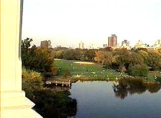 NYC Central Park in Autumn.