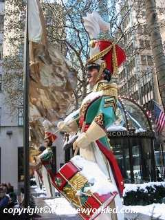 Another Soldier and his drum this 2002 Christmas at Rockefeller.