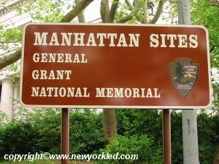 Sign indicating this as a National Memorial