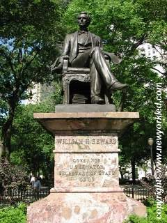 William H. Seward Statue at Madison Park