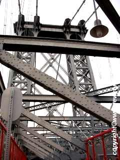 Another photo of one of the Williamsburg Bridge Towers.